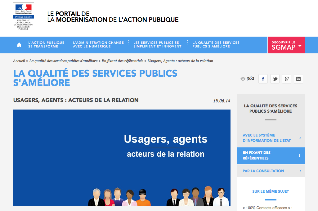 Salon relation de service et management collaboratif