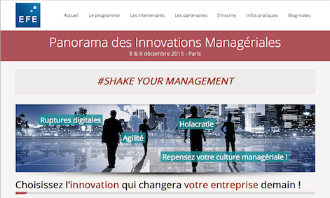 Panorama des innovations managériales